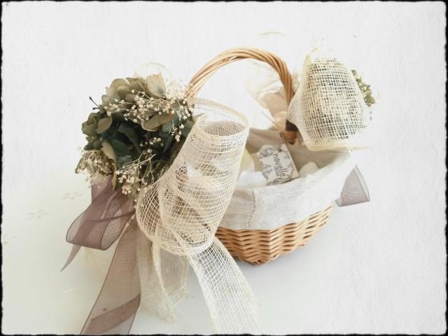 Novelle novias - Cesta arras y anillos boda