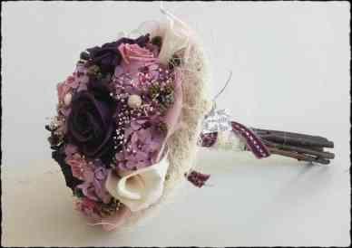 Bouquet Rosas y Calas
