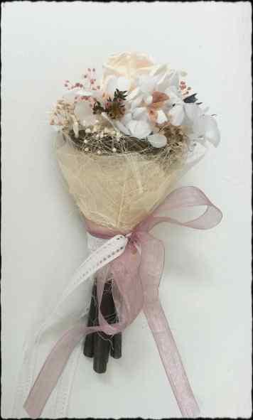 Mini bouquet rosa