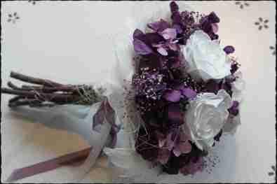 Bouquet Sesión morado