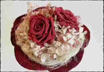 Bouquet 2 rosas Coral