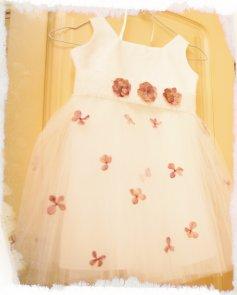 Vestido Tull Flores