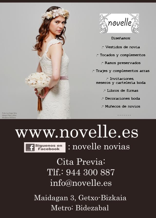 NOVELLE publi libro expobodas 2014