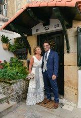 Novelle Novias - Patty, con vestido de novia Mosqueta