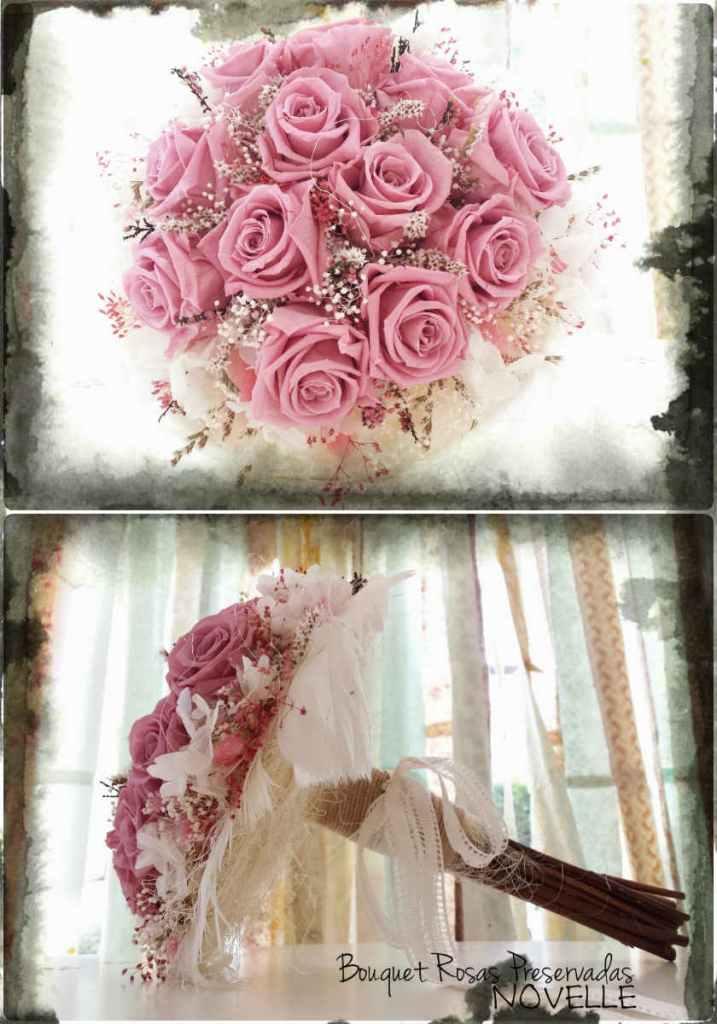 Novelle Novias-Bouquet Rosas Preservadas