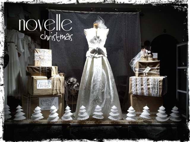 Novelle novias- escaparate navidad 2015