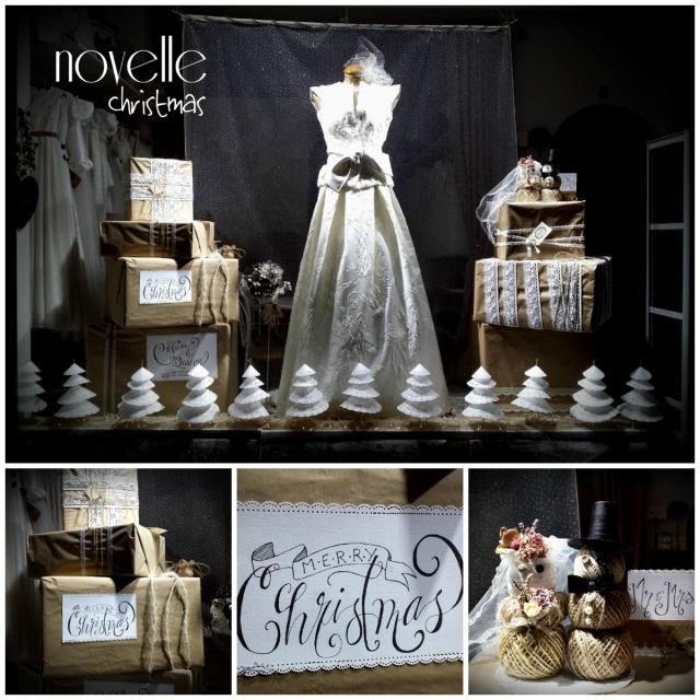 collagenovelle bodas, escaparate navidad 2015