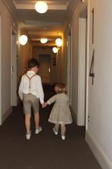 Ensayando en el Backstage I Desfile NOVELLE en el Hotel Igeretxe