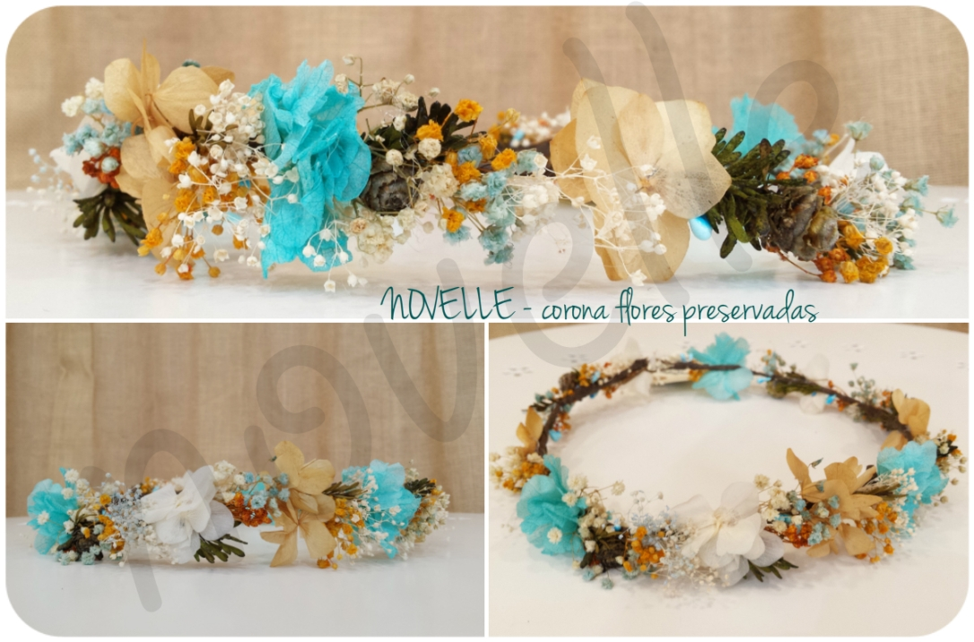 novelle-corona-flor-preservada-turquesa