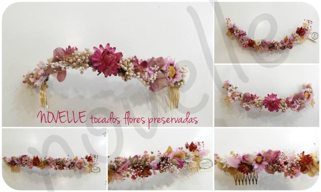 novelle-tocado-floral-rosa-new-mondragon