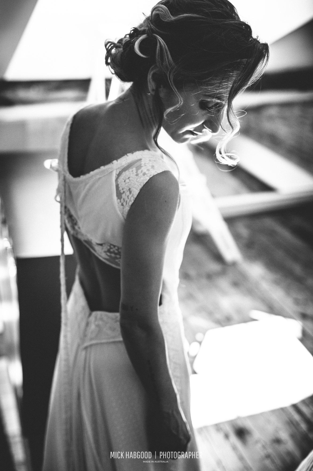 Vestido NOVELLE - Vanessa & Iñaki, 2017. Mick Habgood Photographer.