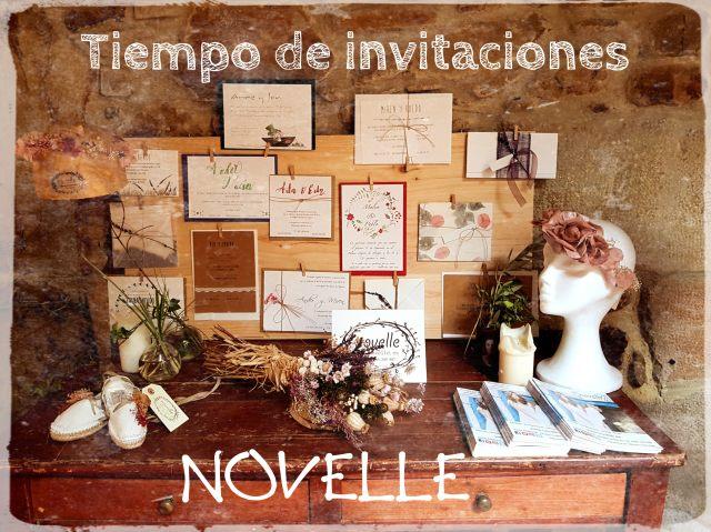 NOVELLE - Tiempo de invitaciones
