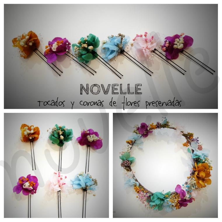 NOVELLE - flores preservadas