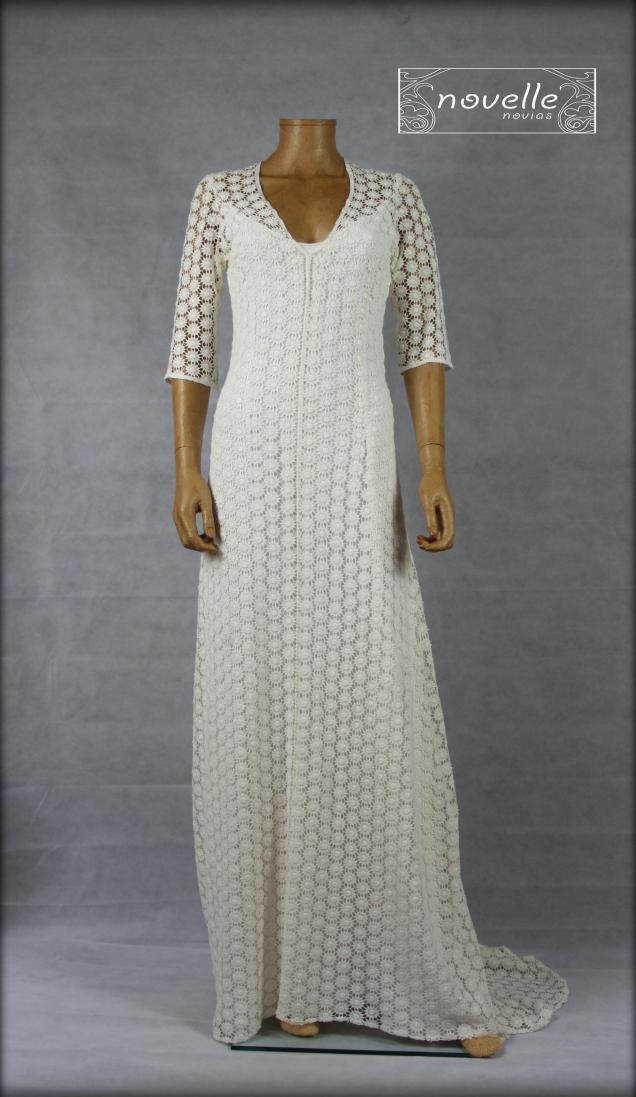 Vestido Dálmata - NOVELLE novias