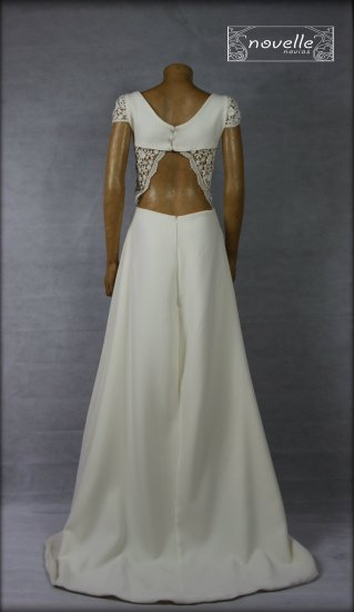 Vestido Basoa - NOVELLE novias