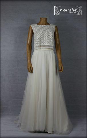 Vestido Dársena - NOVELLE novias