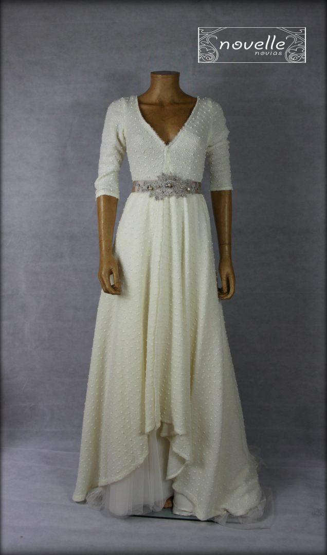 Vestido Doble - NOVELLE novias