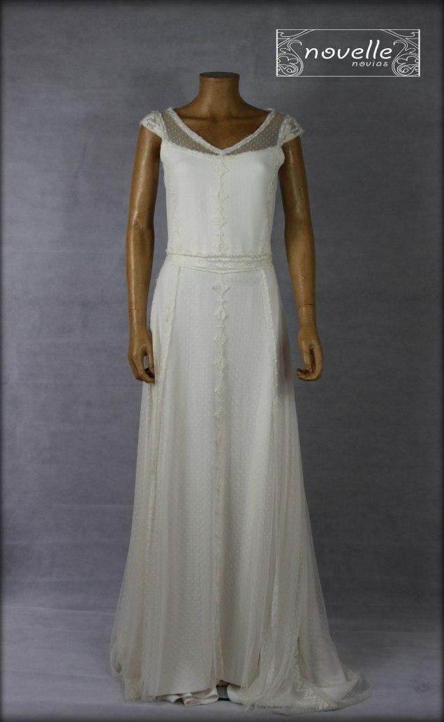 Vestido Bambolina - NOVELLE novias