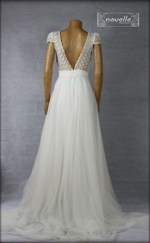 Vestido Dorleta - NOVELLE novias