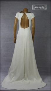 Vestido Devoré - NOVELLE novias