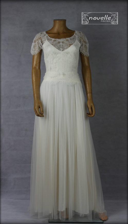 Vestido Delicado - NOVELLE novias