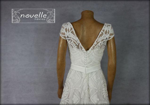Vestido Dímano - NOVELLE novias