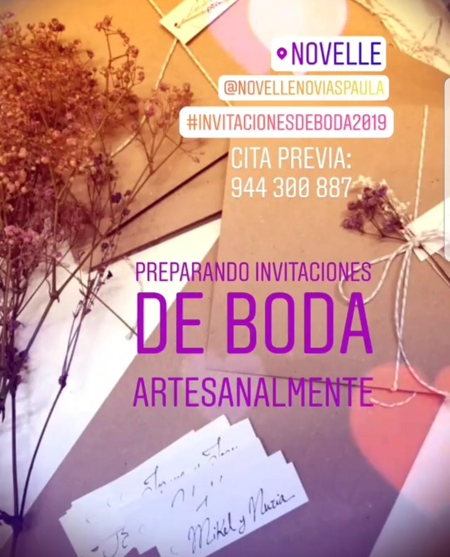 NOVELLE INVITACIONES 2019