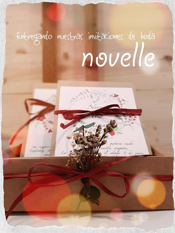 NOVELLE - invitaciones